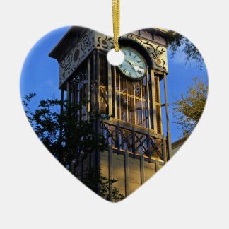 San Antonio Clock Ceramic Ornament