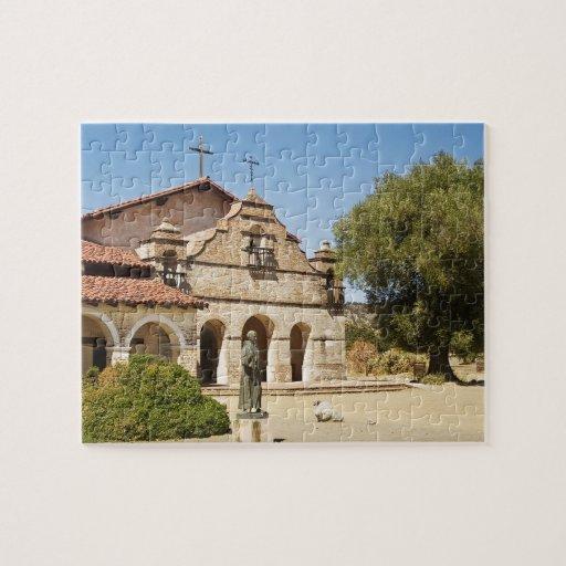 San Antonio de Padua California mission puzzle | Zazzle