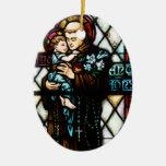 San Antonio de Padua que detiene a un niño Adorno Para Reyes