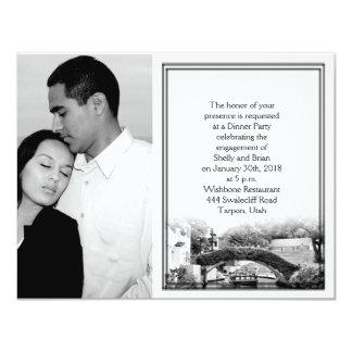 San Antonio Destination Wedding Engagement Card