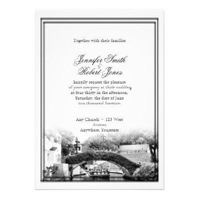 San Antonio Destination Wedding Invitation