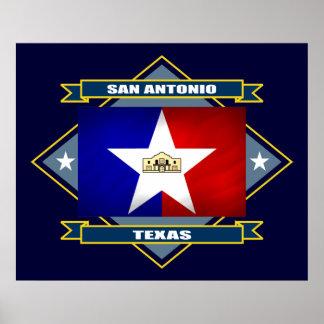 San Antonio Diamond Print