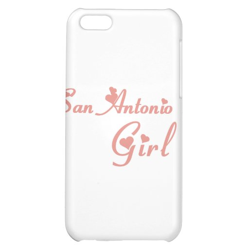 San Antonio Girl tee shirts Cover For iPhone 5C