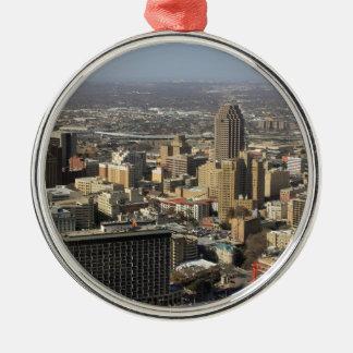 San Antonio Metal Ornament