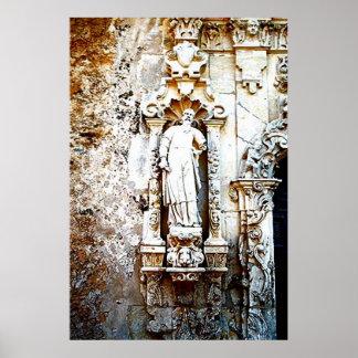 San Antonio Mission Architecture-Art Print
