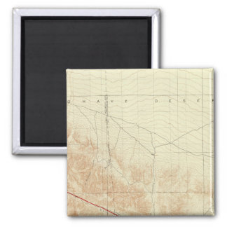 San Antonio quadrangle showing San Andreas Rift 2 Inch Square Magnet