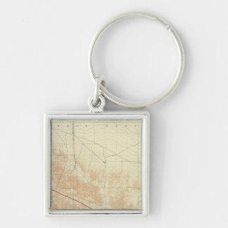 San Antonio quadrangle showing San Andreas Rift Keychain