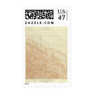 San Antonio quadrangle showing San Andreas Rift Postage