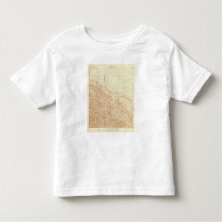 San Antonio quadrangle showing San Andreas Rift Toddler T-shirt
