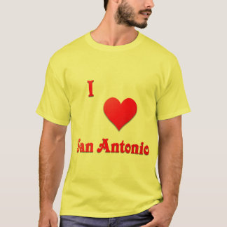 San Antonio -- Red T-Shirt