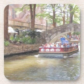 San Antonio River Walk Beverage Coaster