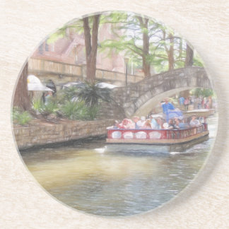 San Antonio River Walk Drink Coaster