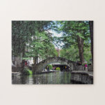 "San Antonio River Walk Jigsaw Puzzle<br><div class=""desc"">river walk and bridges in San Antonio,  Texas</div>"