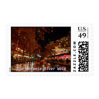 San Antonio River Walk Postage
