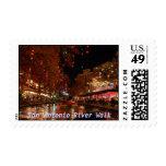 San Antonio River Walk Postage Stamp