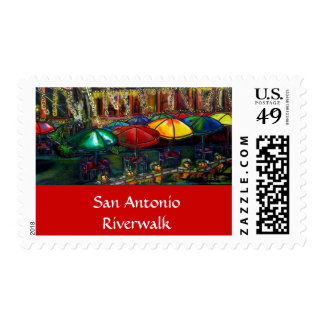 San Antonio River Walk Stamp