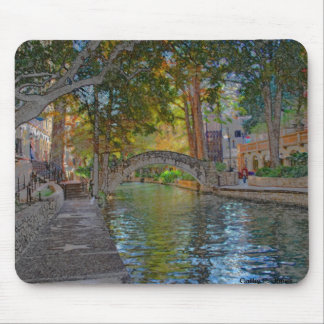 San Antonio Riverwalk Mouse Pads