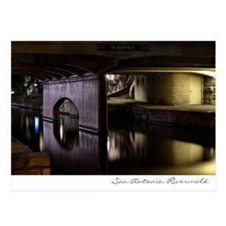 San Antonio, Riverwalk Post Card