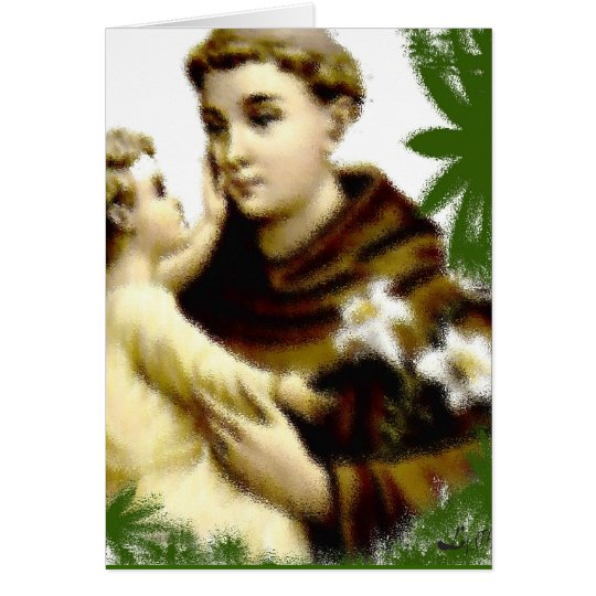 SAN ANTONIO/ ST ANTHONY CARD