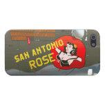 San Antonio subió el arte de la nariz B-24 (el fus iPhone 5 Fundas