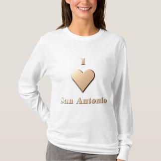 San Antonio -- Tan T-Shirt