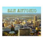 San Antonio, Tejas - visión aérea Tarjeta Postal