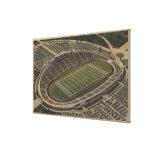 San Antonio, Texas - Alamo Stadium View Canvas Print
