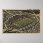 San Antonio, Texas - Alamo Stadium View Poster