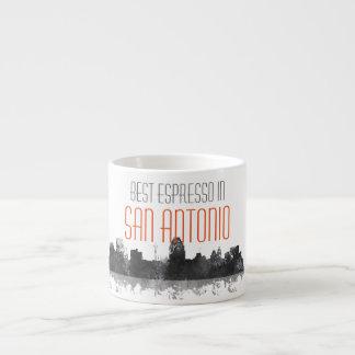 SAN ANTONIO TEXAS ESPRESSO CUP