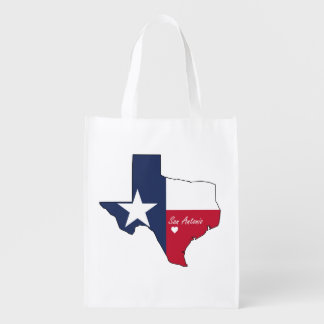 San Antonio, Texas Grocery Bag