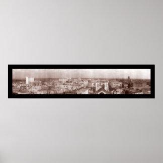 San Antonio Texas Photo 1910 Poster