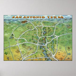 San Antonio Texas Poster