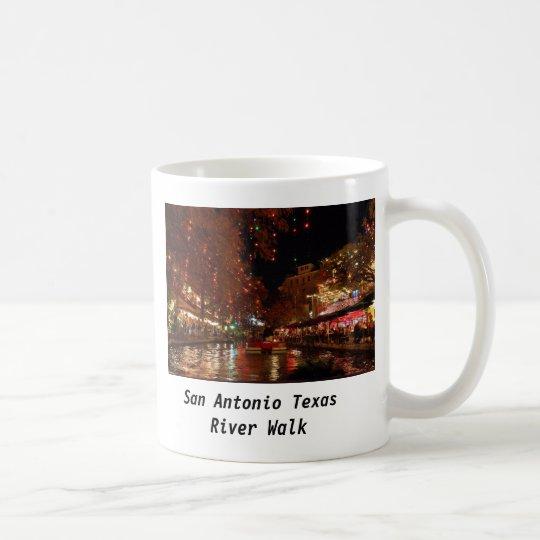 San Antonio Texas River Walk Coffee Mug