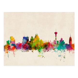 San Antonio Texas Skyline Cityscape Post Cards