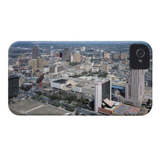 San Antonio Texas Skyline iPhone 4 Case