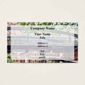 Del rio business cards templates zazzle san antonio tx bridge on paseo del rio business card reheart Image collections