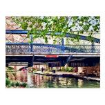 San Antonio TX - Bridge on Paseo Del Rio Postcard