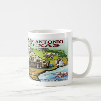 San Antonio TX Coffee Mug