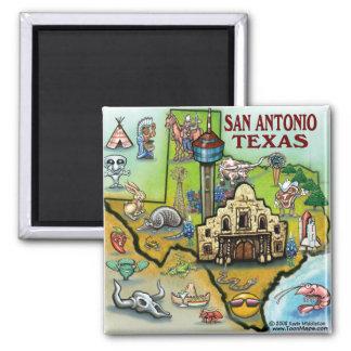 San Antonio TX Imán Para Frigorífico