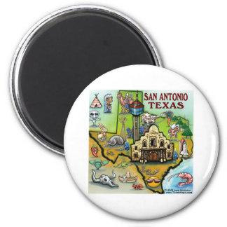 San Antonio TX Magnet