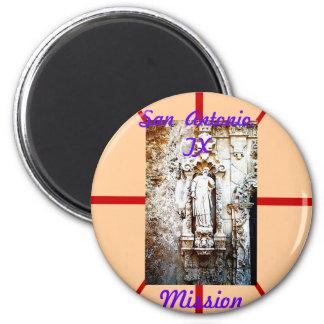 San Antonio TX Mission Magnet