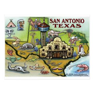 San Antonio TX Postales
