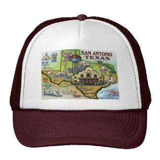 San Antonio TX Trucker Hat