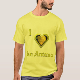San Antonio -- with Yellow Flower T-Shirt