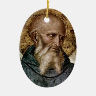 San Benedicto Ornamento De Navidad