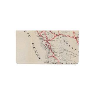San Benito, Fresno, Monterey, San Luis Obispo Checkbook Cover