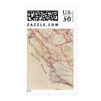 San Benito, Fresno, Monterey, San Luis Obispo Postage