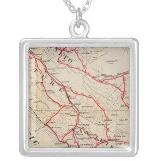 San Benito, Fresno, Monterey, San Luis Obispo Silver Plated Necklace