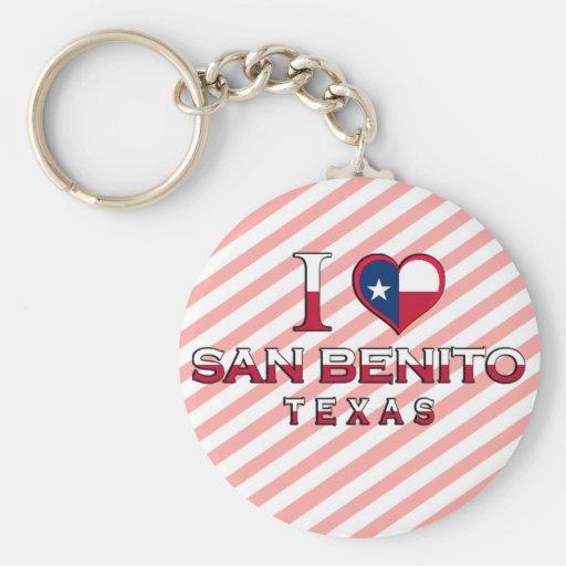San Benito, Tejas Llavero Redondo Tipo Pin