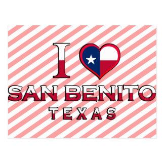 San Benito, Texas Postcard